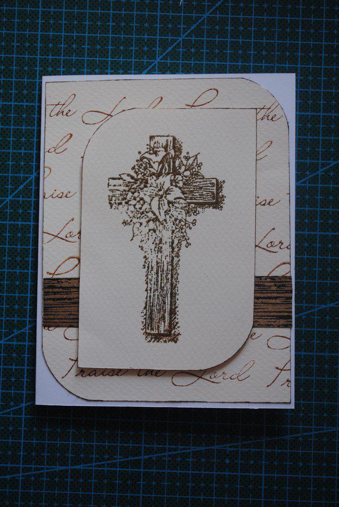 скрапбукинг христианский открытка ручной работы