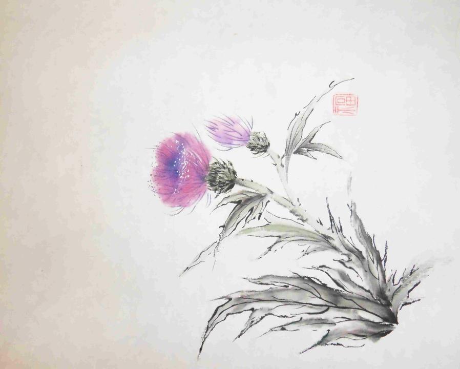 япония арттерапия мастеркласс живопись художник