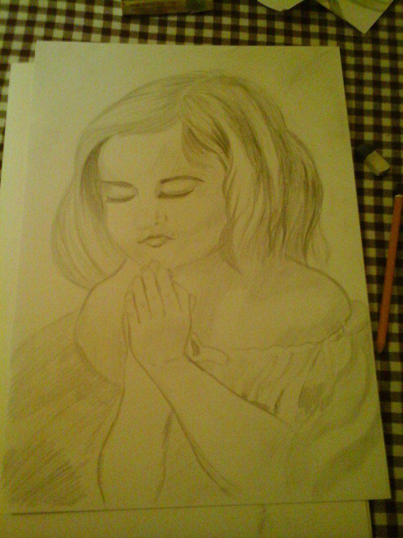 ребенок молиться