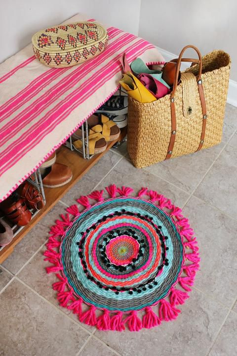 дома коврик домашний для пряжа уют