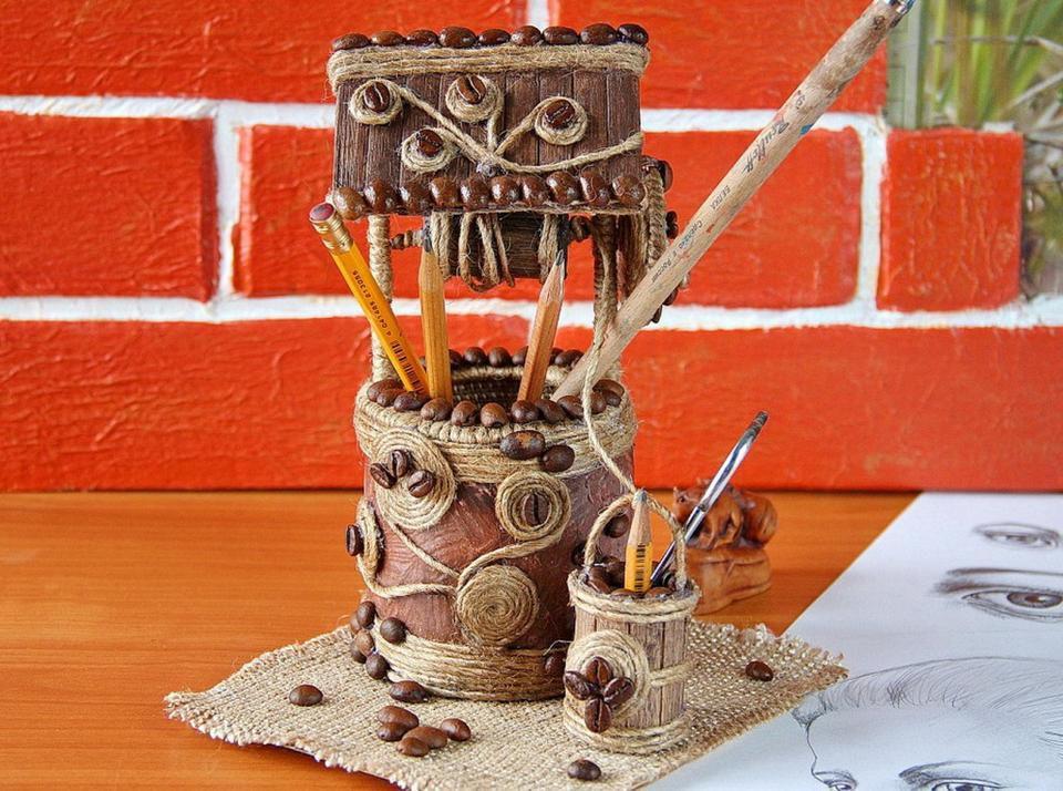 подарок канцелярия кофе хранение мастеркласс аксессуары органайзер