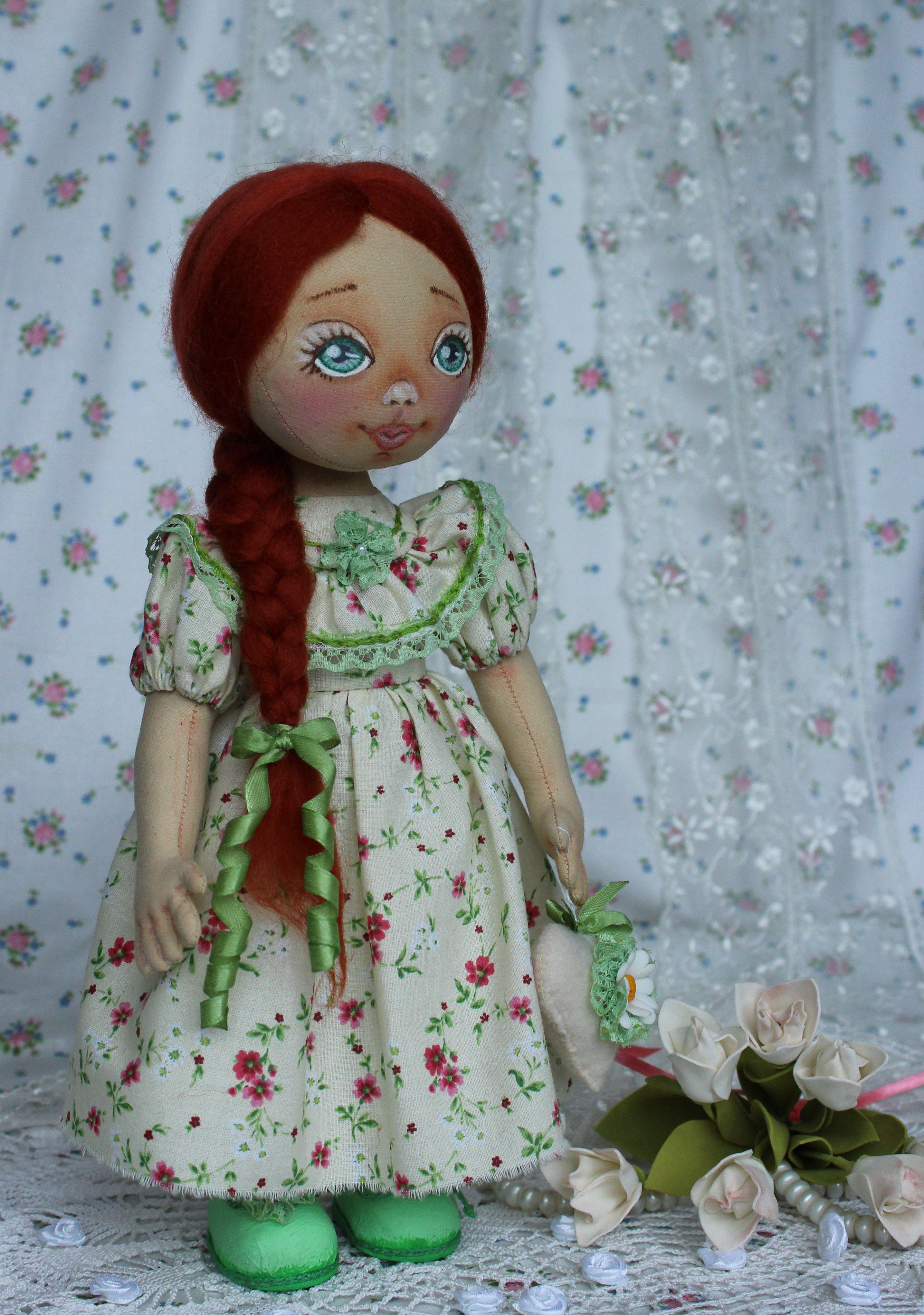 авторская подруге подарок кукла одежде случай коллекционная съемной рождения день девушке оригинальный текстильная любой