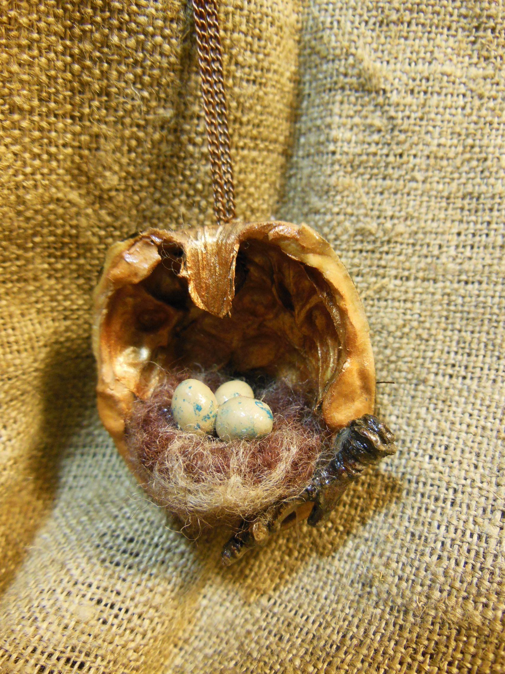 орех украшения подвески