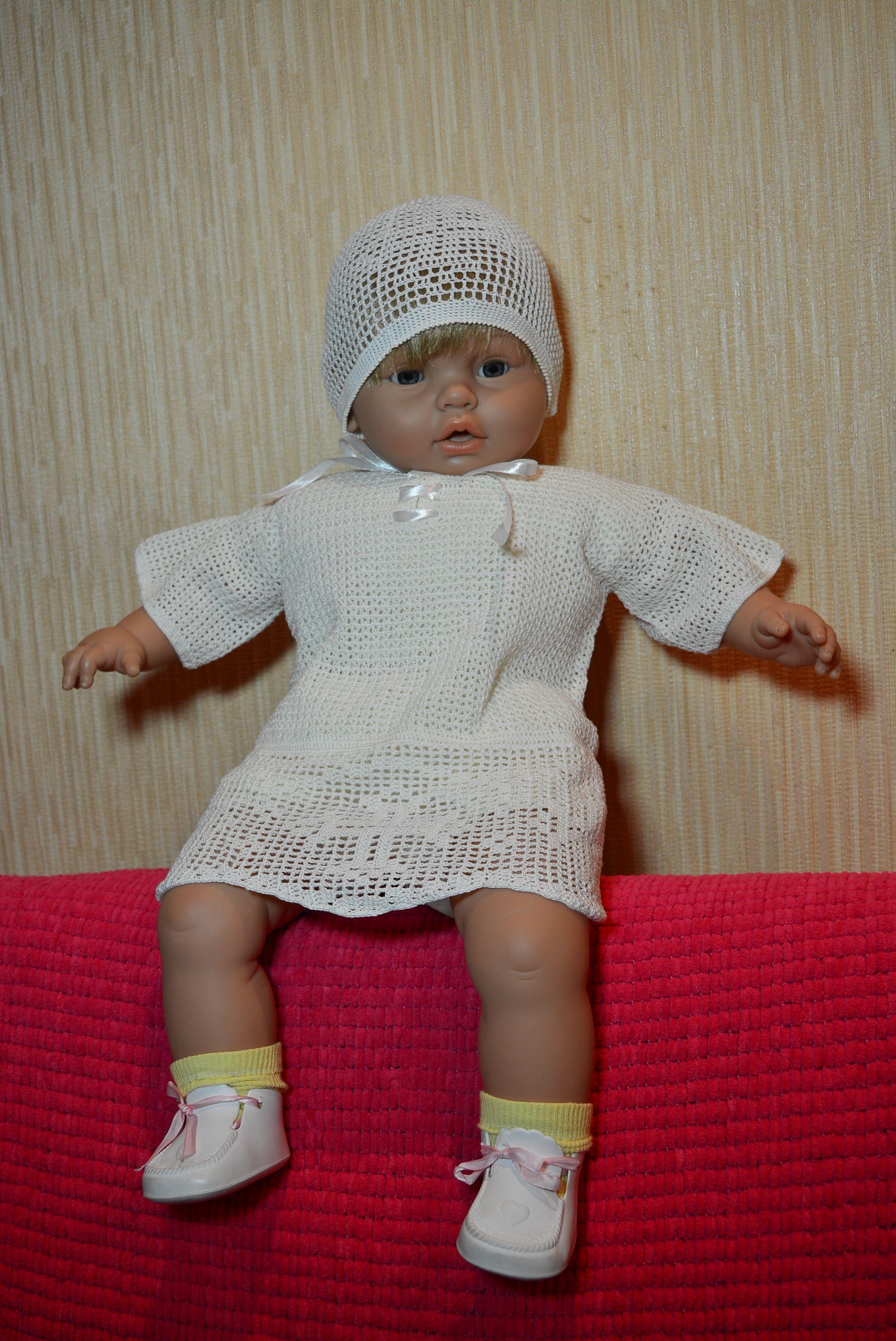 новорожденным комплект ручная работа крещение малышам