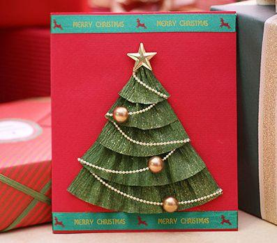 открытки рождественские руками своими