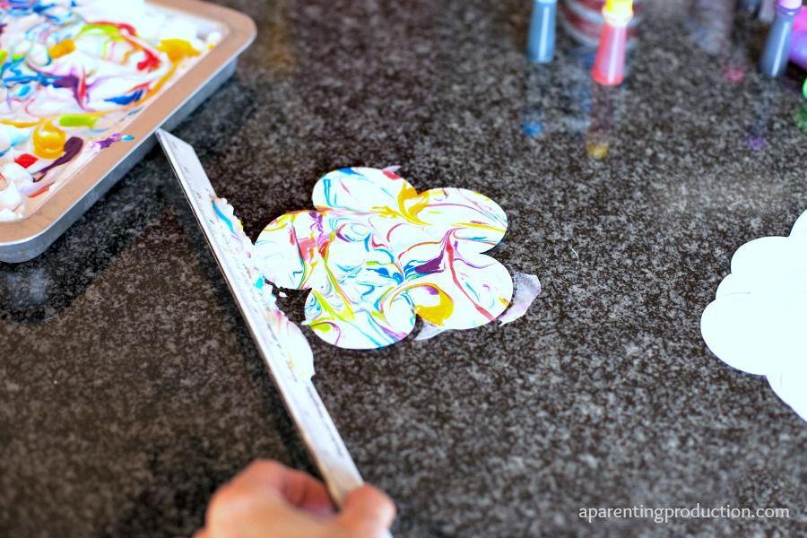 бумаги детьми мраморная поделки из идеи бумага с руками своими сделай сам дети