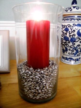 руками золотая фасоль бобы дома декор золотые декора для идеи своими