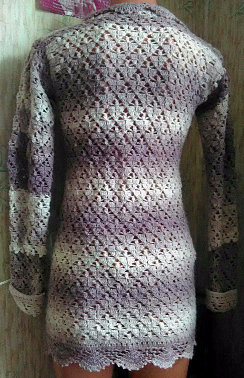 handmade ажур вязание кофточка винтаж ручнаяработа