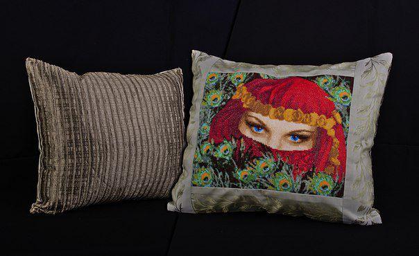 ориенталь печворк дома вышивка декор подушки для интерьер
