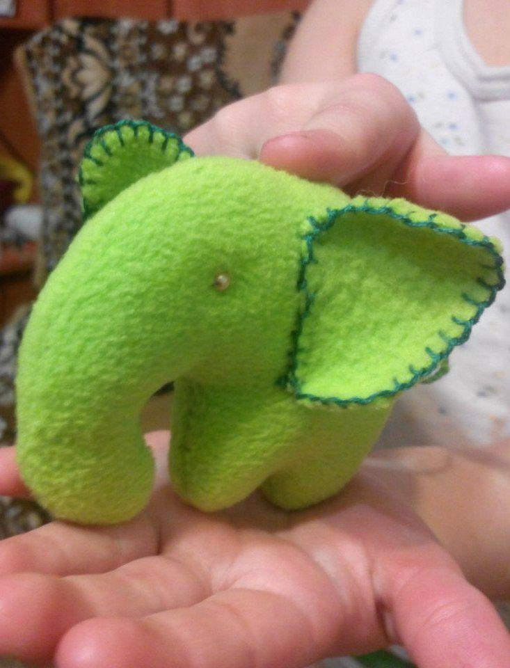 игрушка слон оригинальныйподарок зеленыйслон ручная слоник назаказ работа подарок