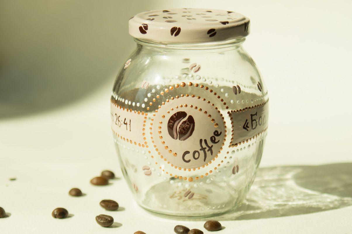витраж подарок роспись ручная кофе работа стеклу