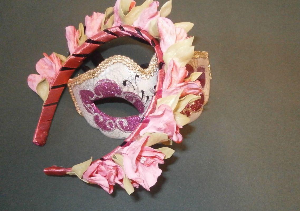 свадьба фоамиран ободок розовый выпускной