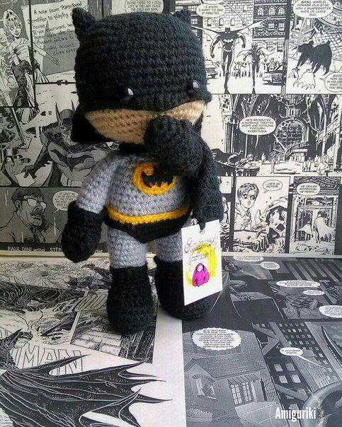 вязание игрушки праздник для подарок детей амигуруми супергерой дети