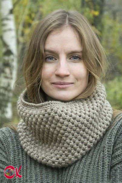 шарфик спицами подарки рукоделие вяжутнетолькобабушки шарф назаказ handmade knitting женский подаркиручнойработы осень вязание снуд снуды вязанный ручнаяработа