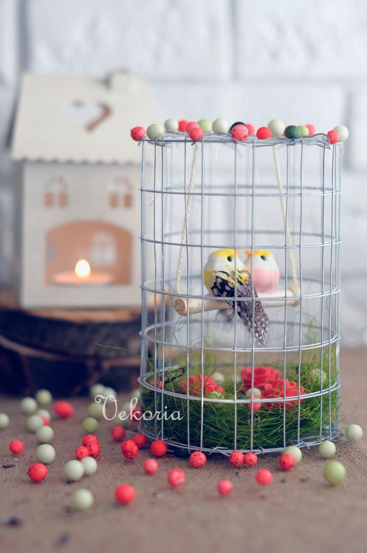 композиция птички интерьер дом подарок