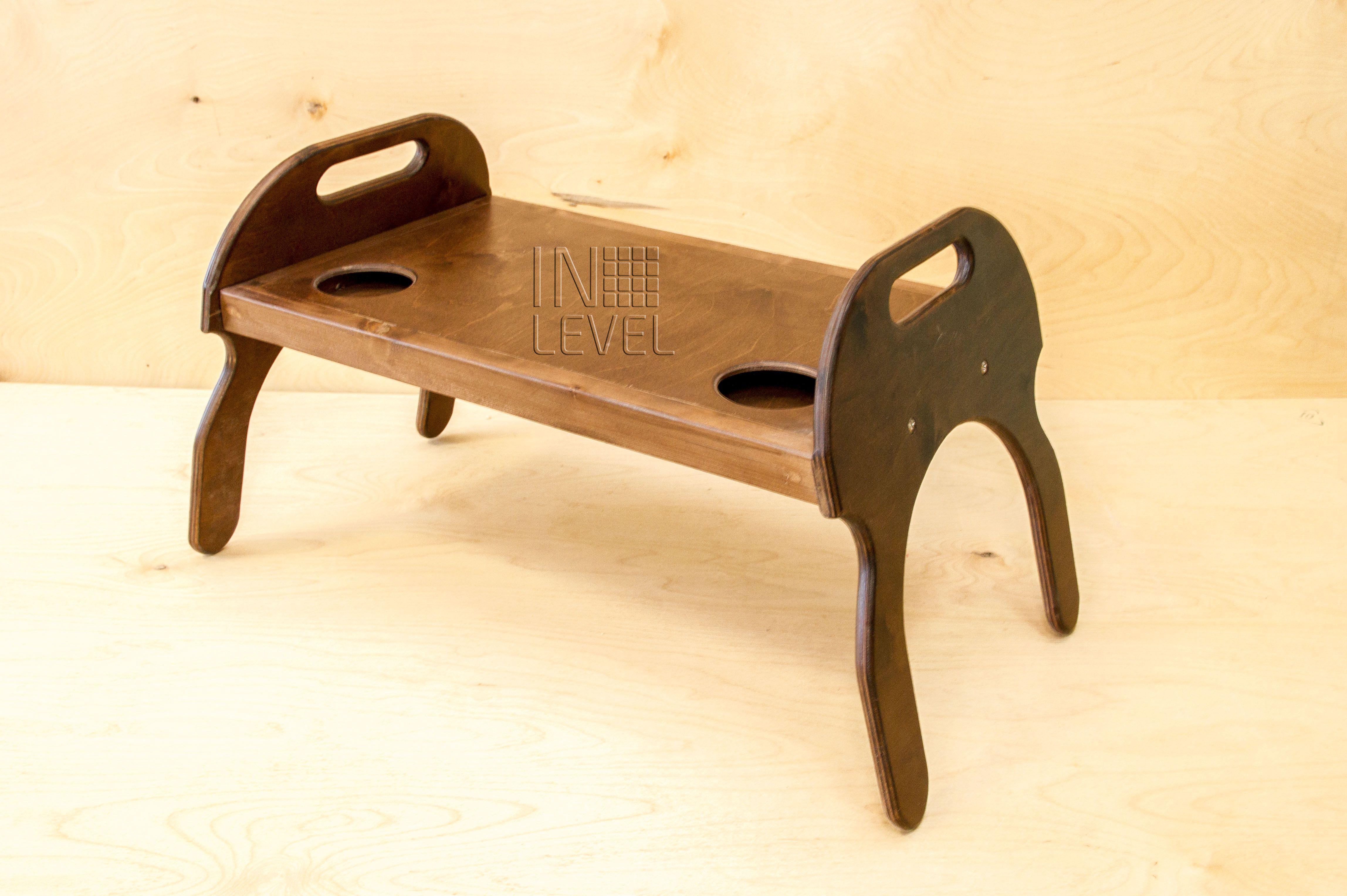 столик поднос семья кровать деревянный стол дерево сосна