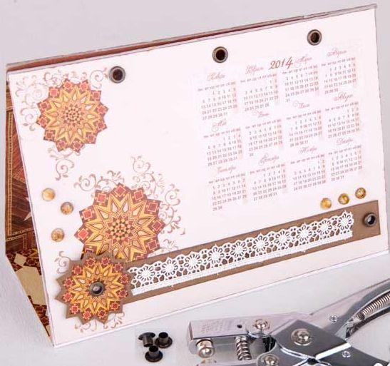 Календарь своими руками 7