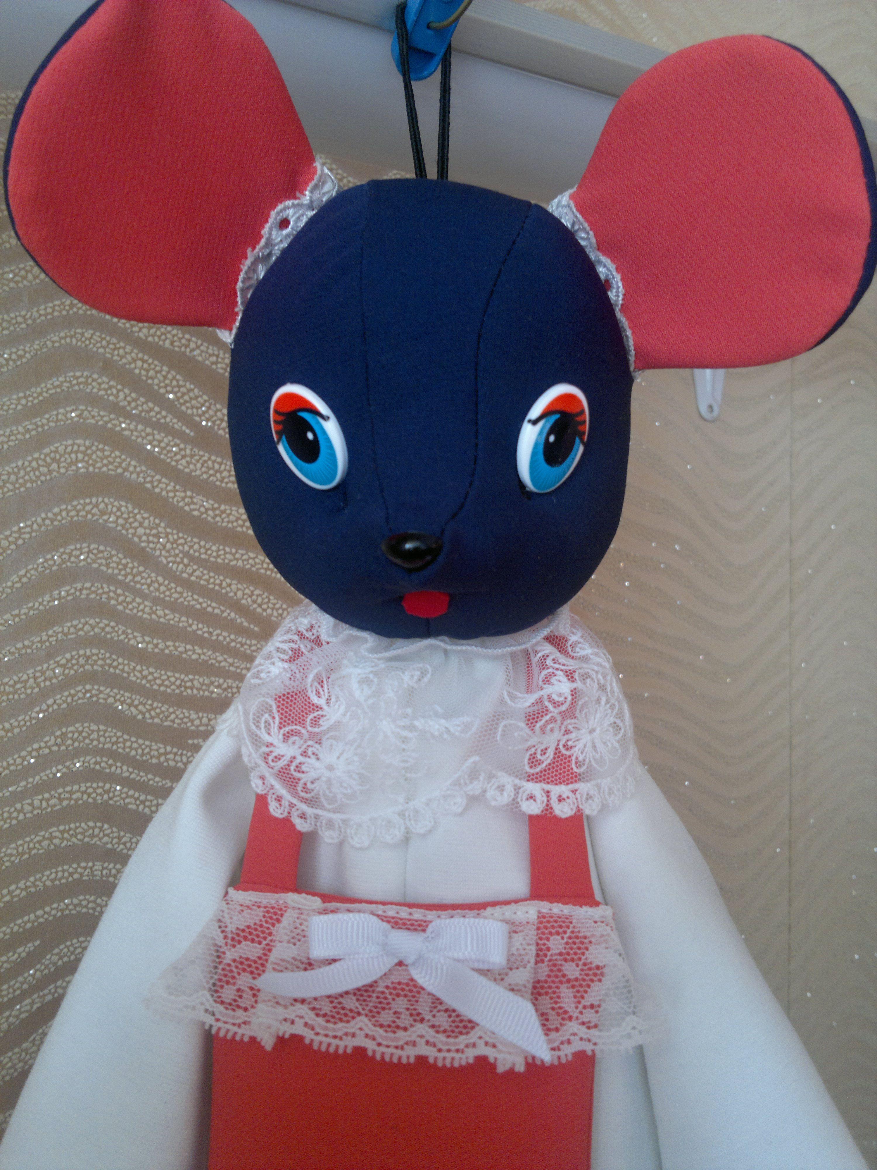 текстильручная работаигрушкапакетницамышка