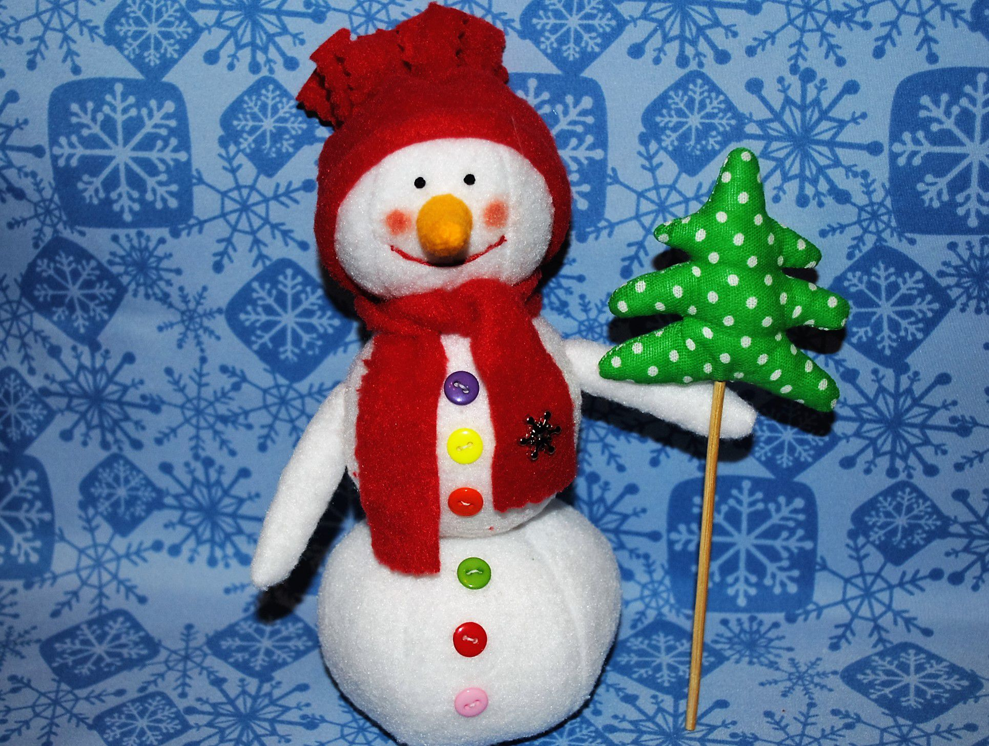 тильда снеговик новыйгод