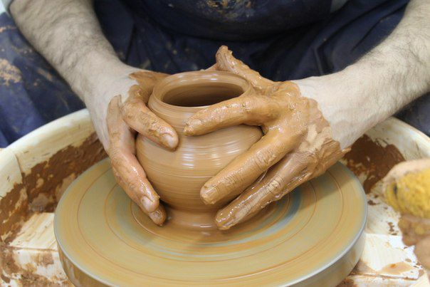 керамика мастеркласс посуда лепка глина
