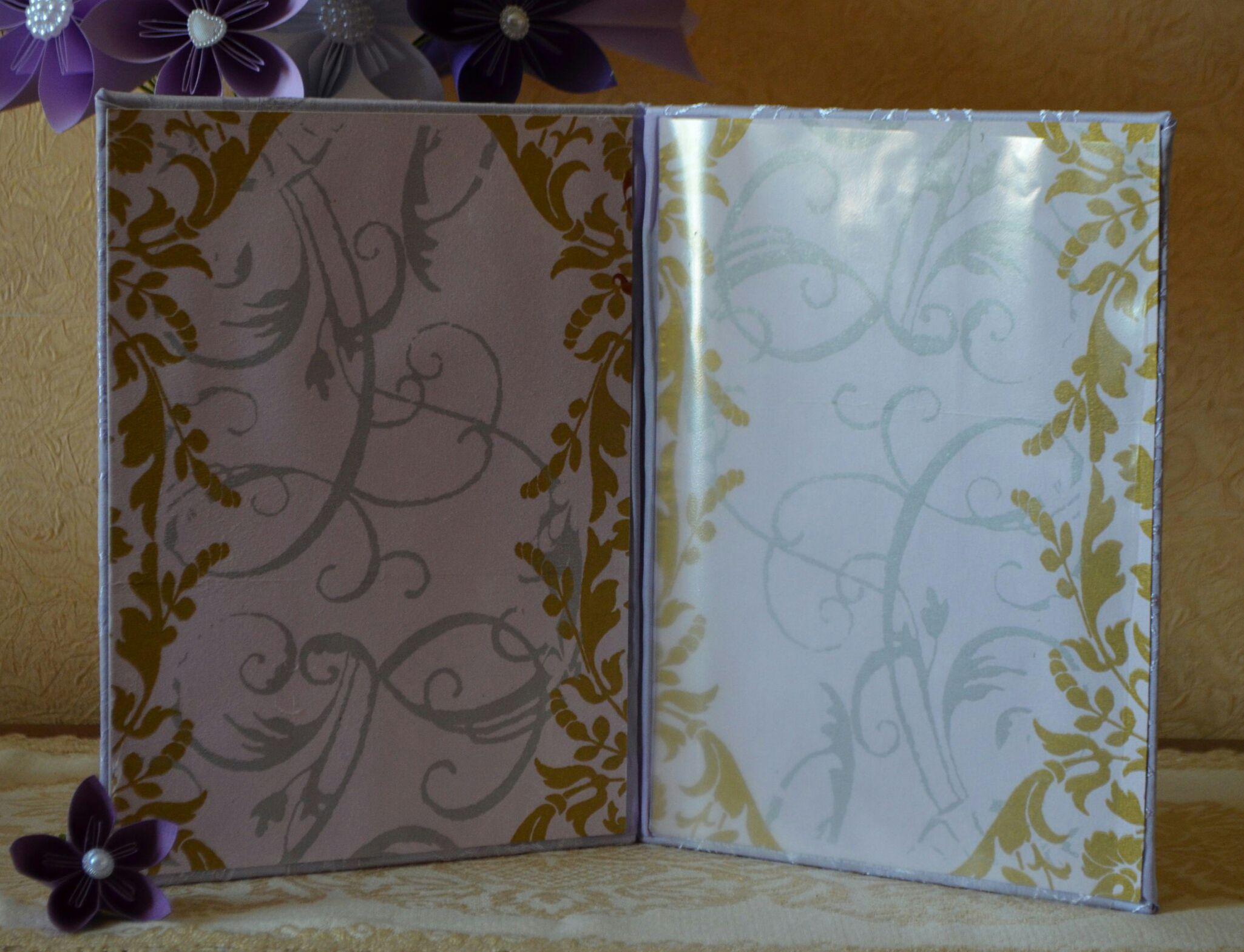 папка свадьба подарок
