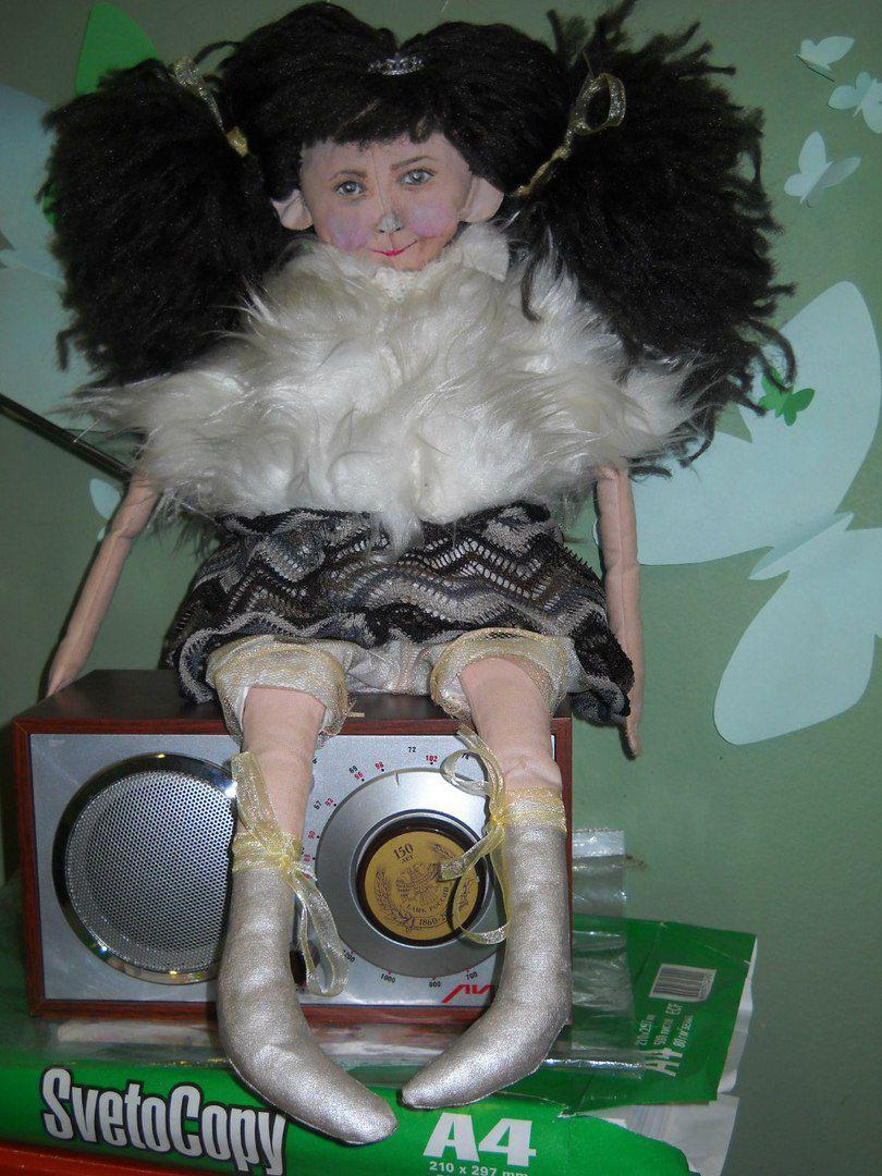 кружево кукла материалы подарок натуральные текстильная