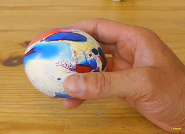 мяч антистресс развлечение руками своими дети