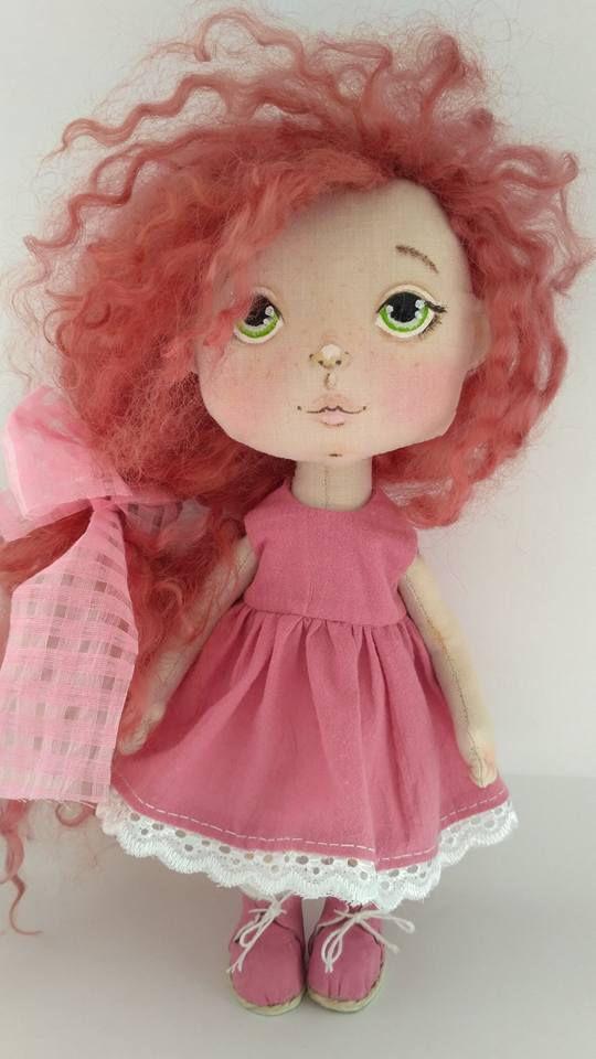авторская подарок кукла текстильная