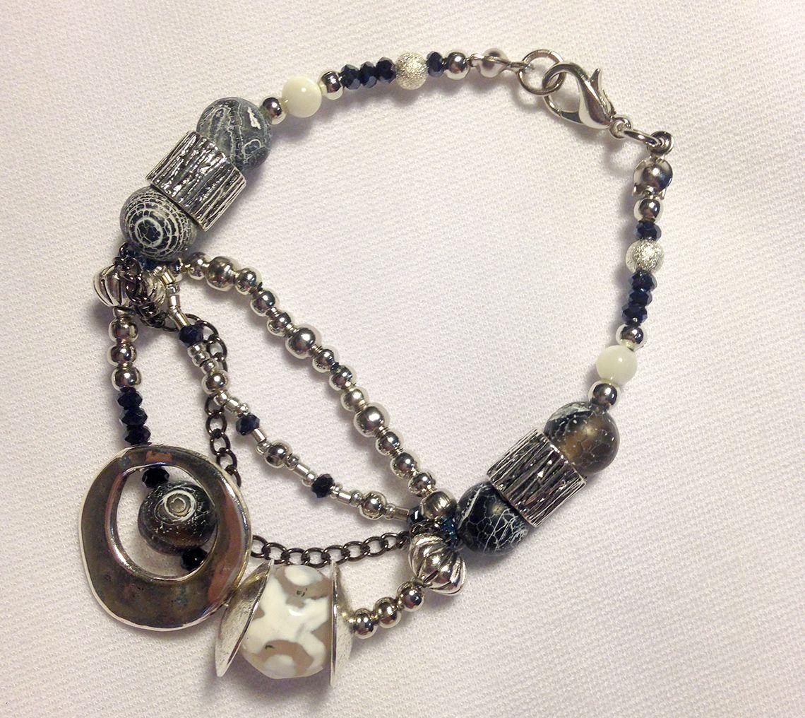 украшениедлятебя стильныйаксессуар мода украшение браслет handmade авторские агат бижутерия камни