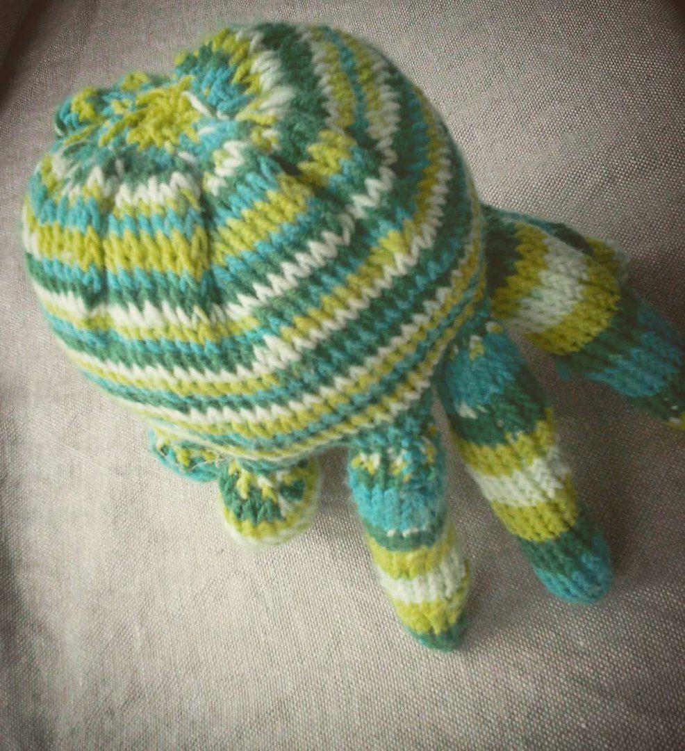 осьминог игрушка фотосессии малышу погремушка мягкая подарок оригинальный