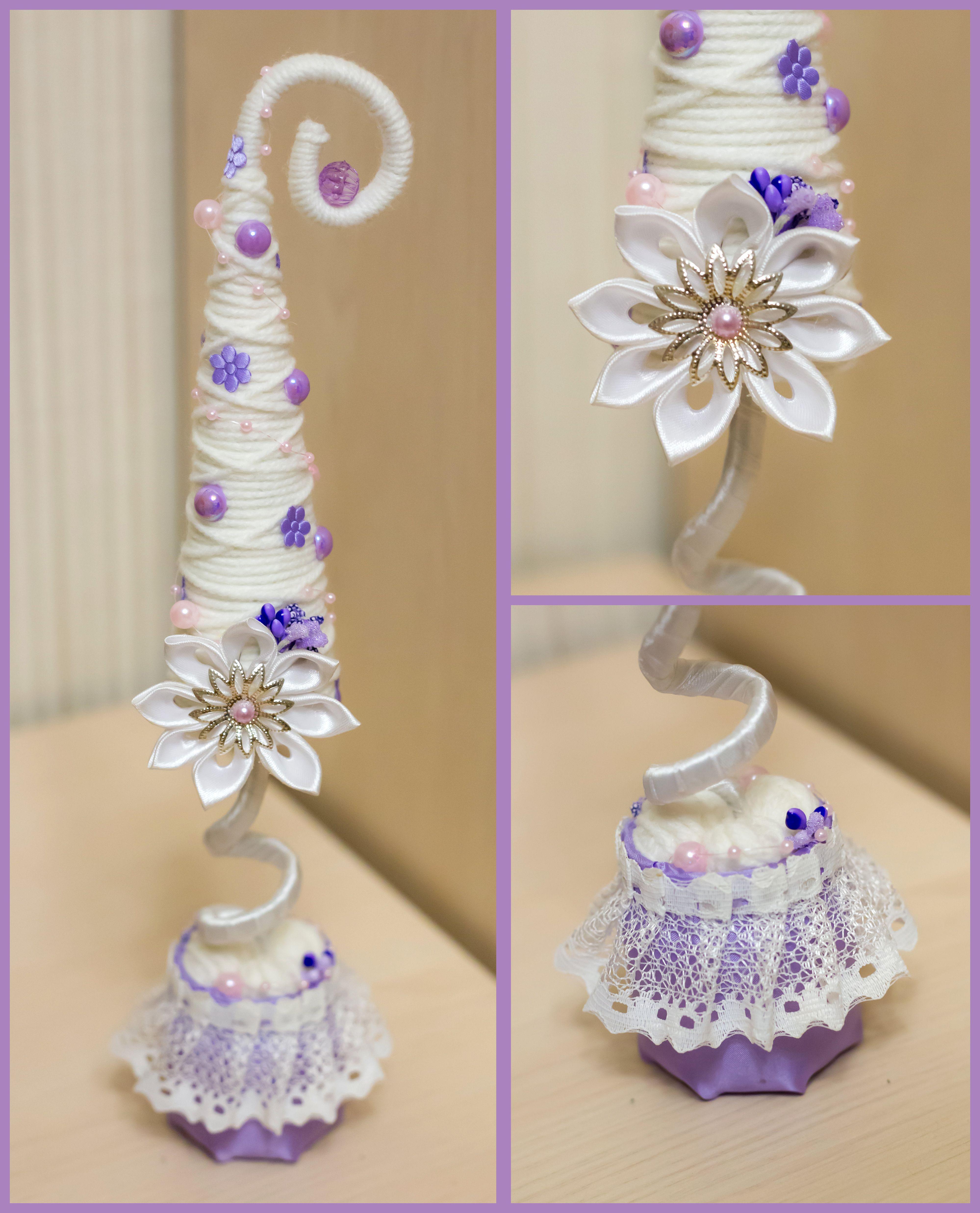 подарок нитки декор хэнд-мейд бусинки красивые творчество елочка