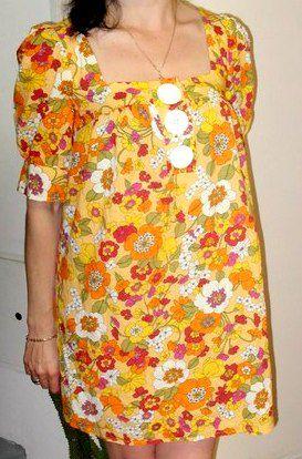 vintage ретро retro платье old яркость винтаж