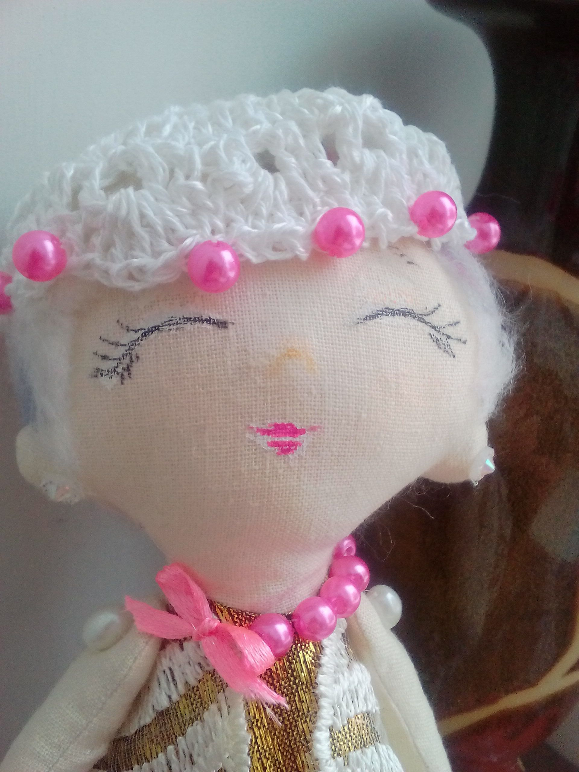 handmade игрушка кукла текстильнаякукла ручнаяработа подарок