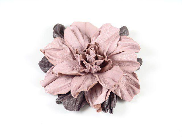 необычное мастеркласс цветы кожа