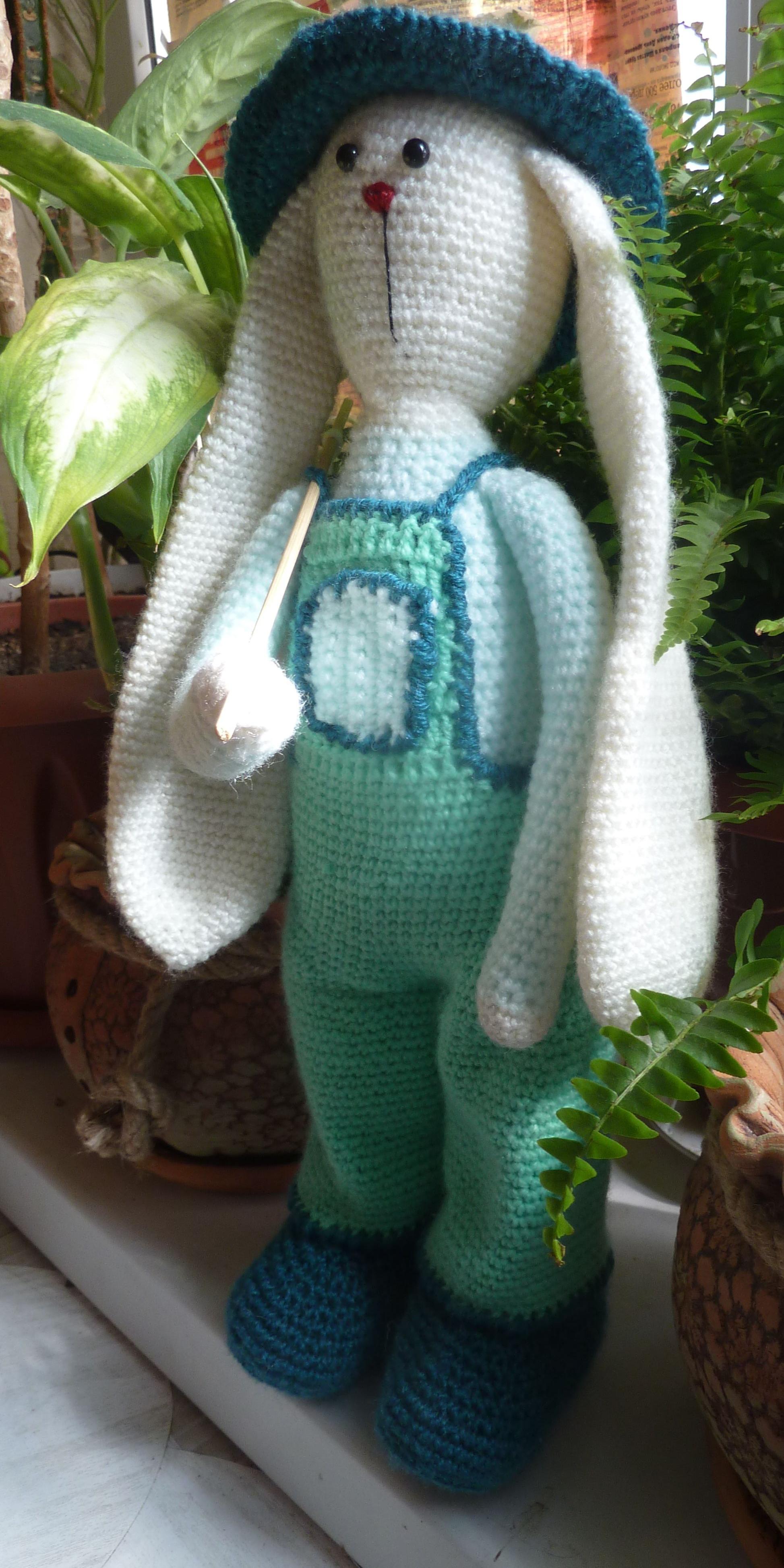 заяц вязание игрушки тильда дети