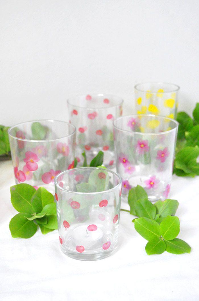посуда стаканы декор стекло
