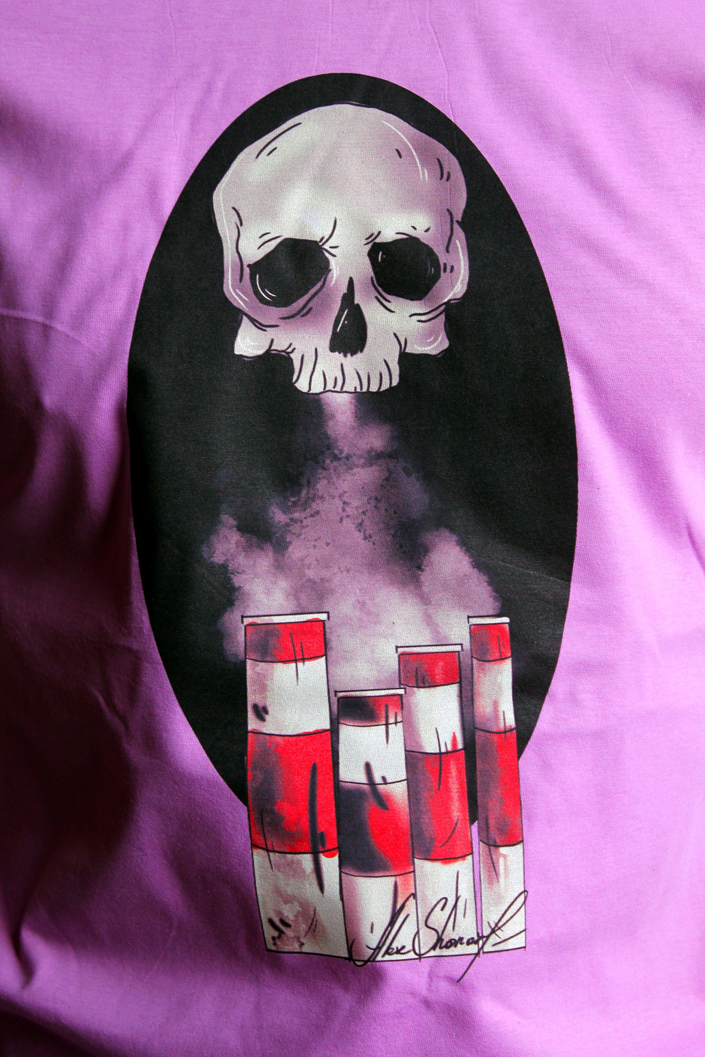 футболкамечты текстиле черепа подарок лиsьянора футболка трубы мужу санктпетербург печать парню