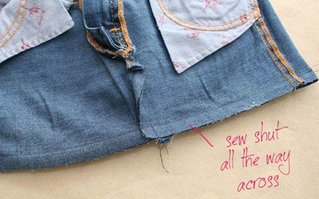 Из старых джинсов своими руками 7