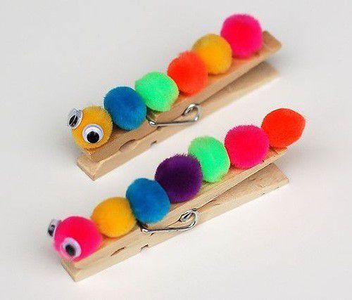 переделки прищепки прищепок игрушки поделки из дети