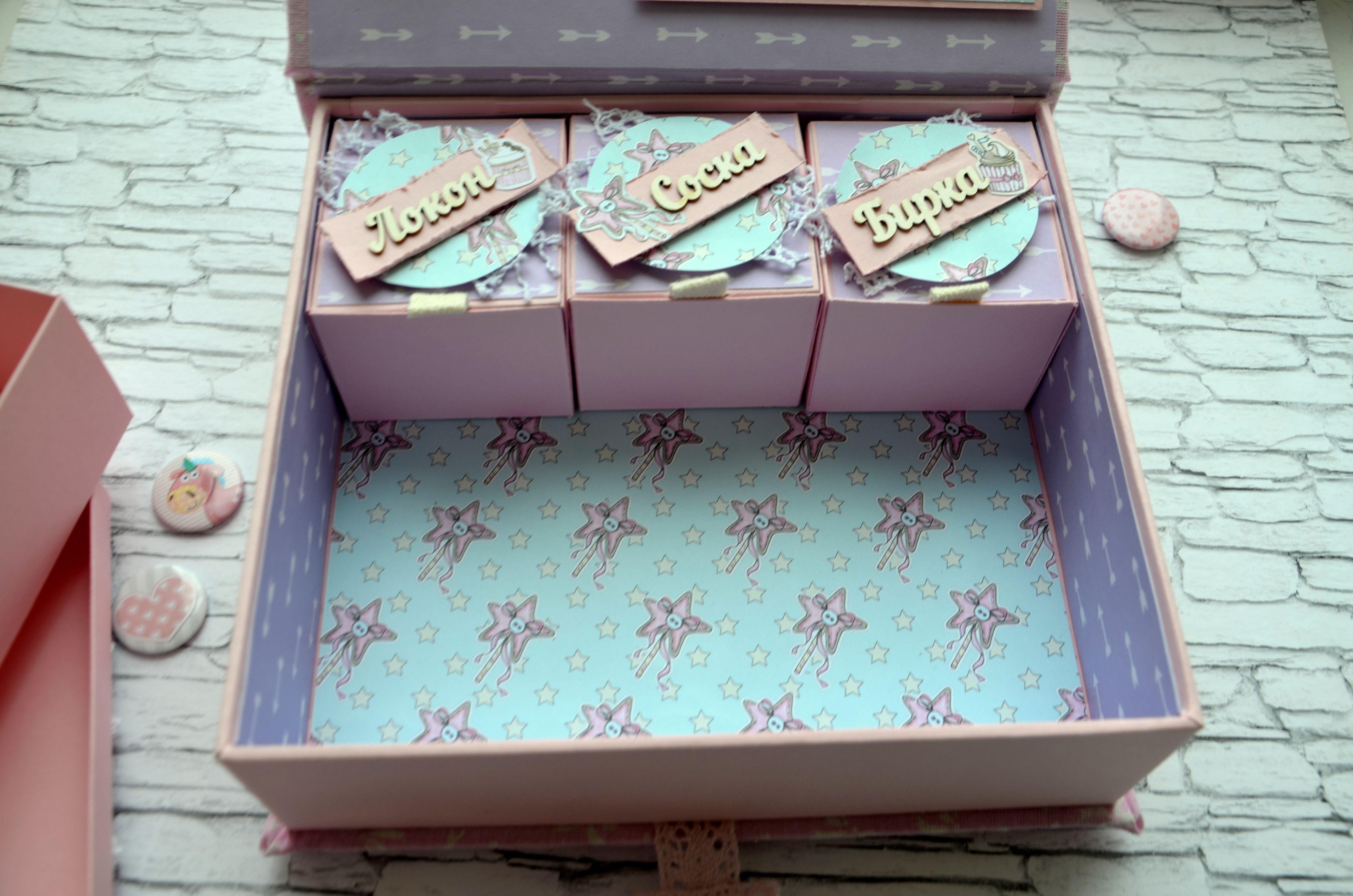скрапбукинг хранение длядевочки важныемелочи подарок