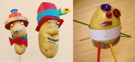 Поделки из картошки своими руками 2