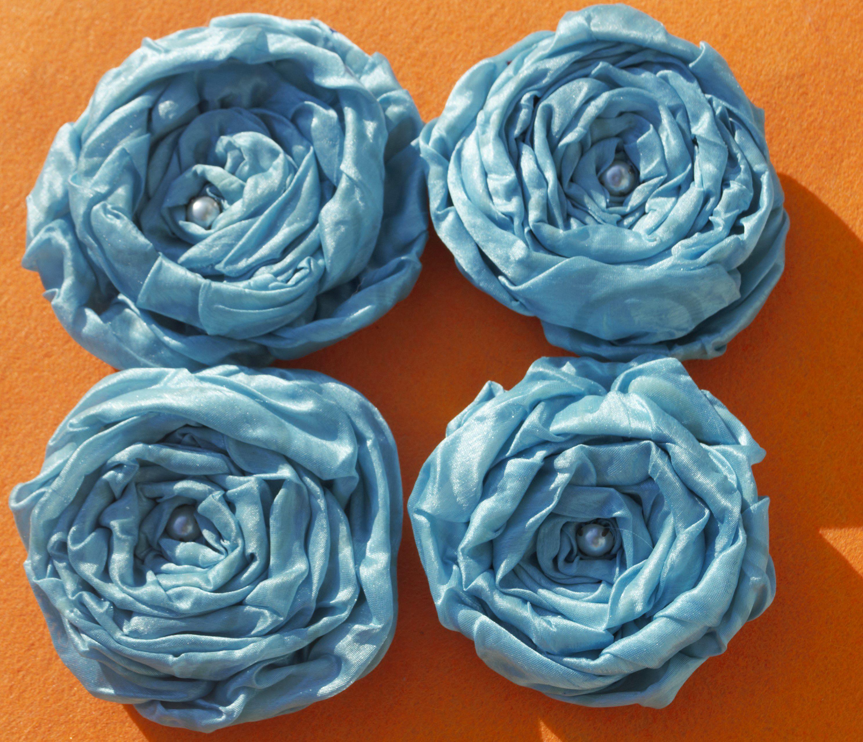 броши яркие женские украшения ткани цветы