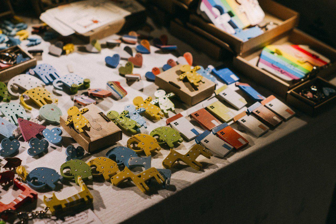 необычное выставка подарки текстиль фланель