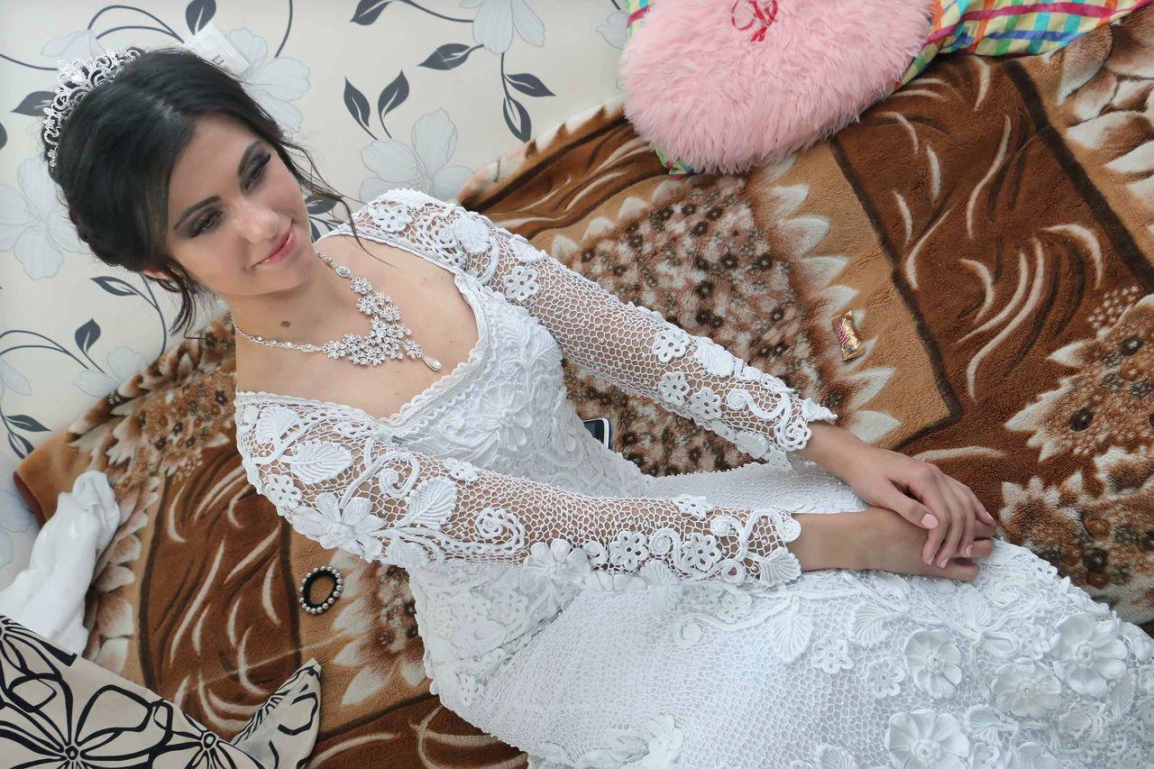 крючком свадебное белое платье вязаное ирландское для заказ вязание свадьбы кружево