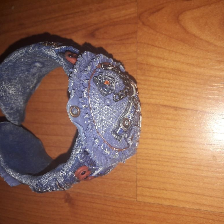 полимерная глина женщин джинс украшение для хендмейд браслет любовью подарок руками своими
