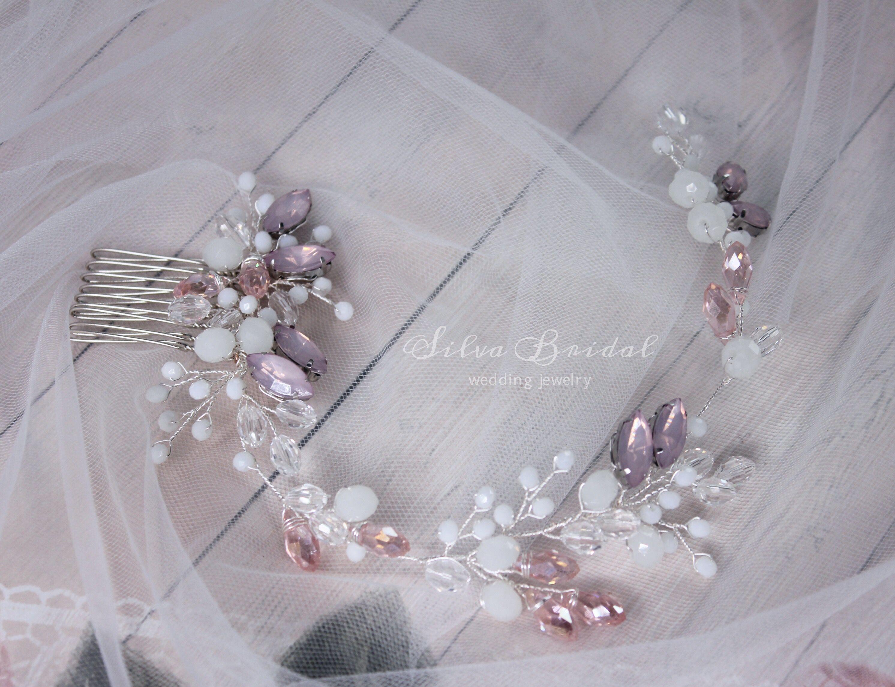 прическу свадебные украшение для волосы корона гребень свадебное украшения невесты в