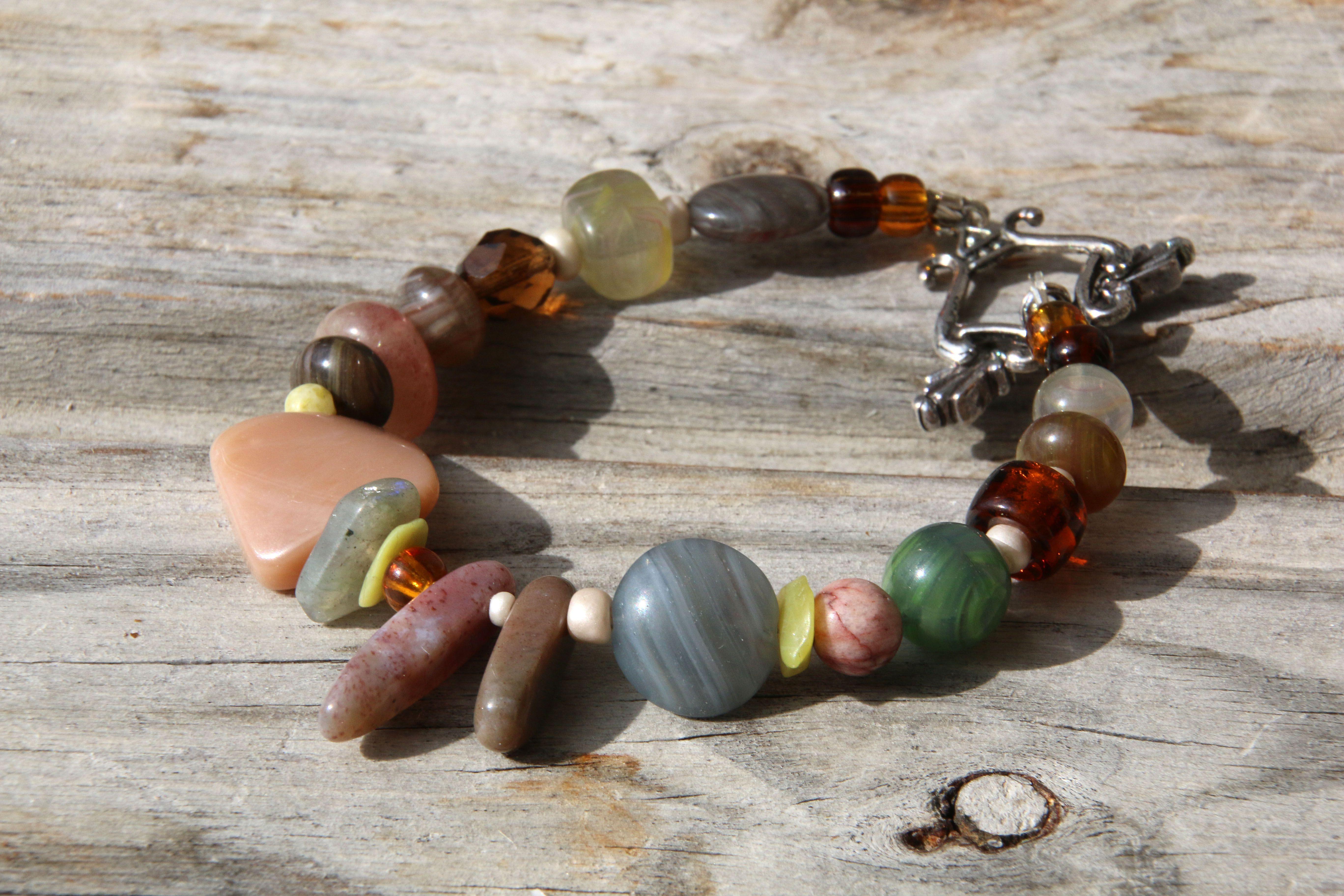 коньячный зеленый лесной стеклянный серьги коричневый комплект камни прозрачный браслет патина пыльнорозовый серозеленый натуральные винтаж