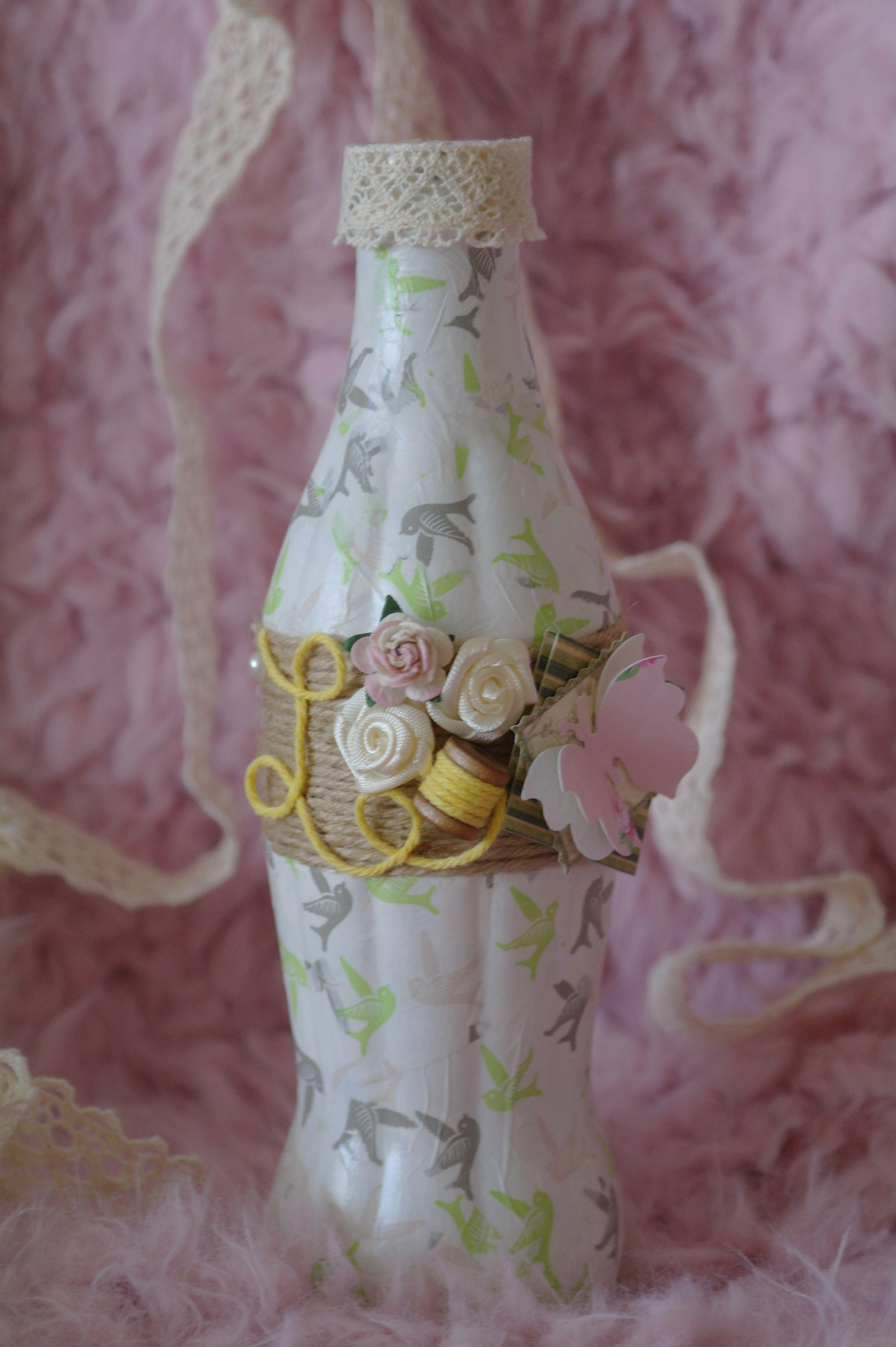 ваза цветка одного весна для бутылка бабочки цветы стекло