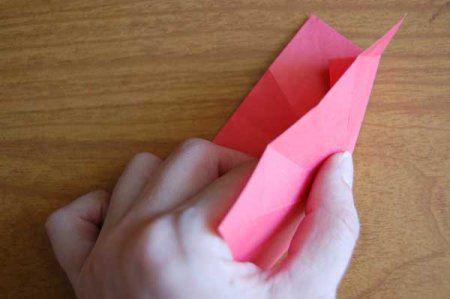 Оригами из бумаги цветы 23
