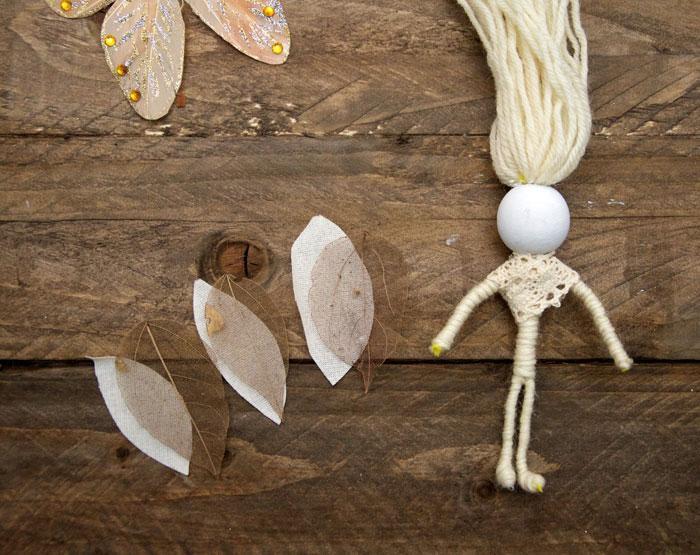 длядетей игрушка кукла природные материалы